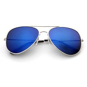 Other - Classic Pilot Blue Lens Sunglasses  For Men